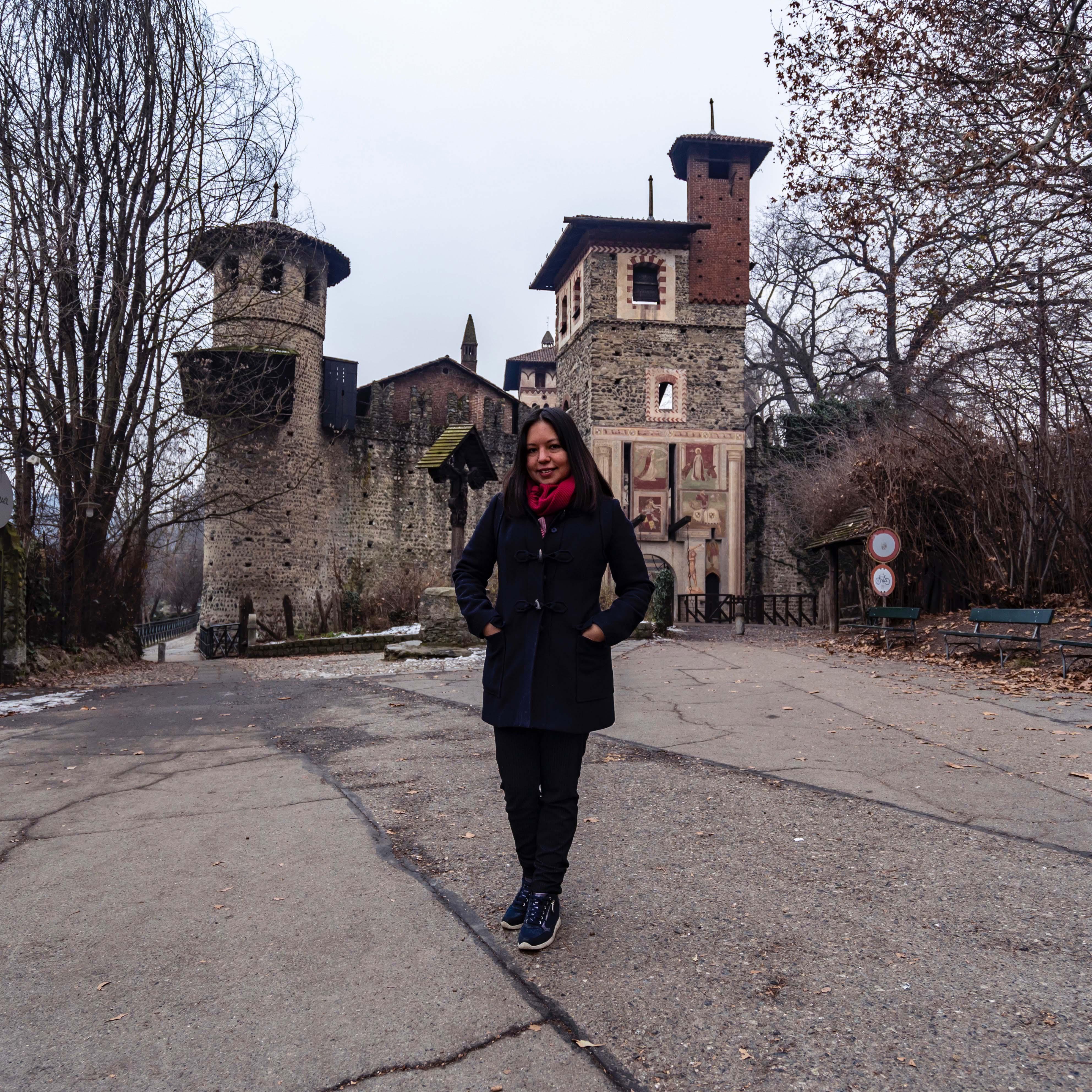 Elena a Torino dall'Ecuador