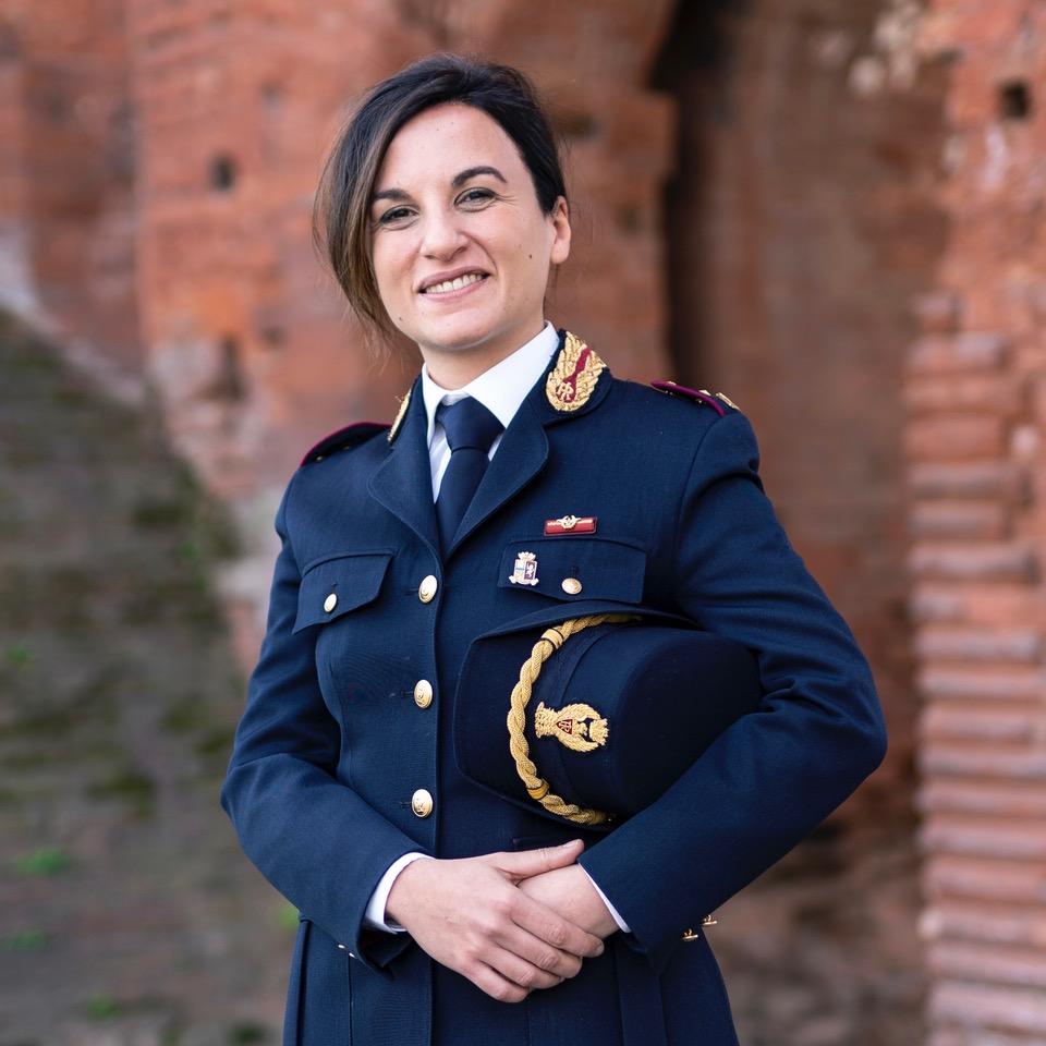 Marilina Castaldo Futurabile Commissario di Polizia