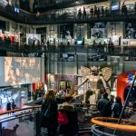Torino capitale del cinema: l'interno del Museo dentro la Mole Antonelliana